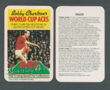 Manchester United Bobby Charlton England Title Card